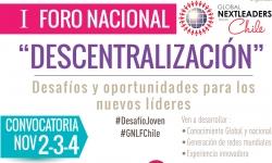 """I Foro Nacional """"Descentralización"""" oportunidades y desafíos para los nuevos líderes"""
